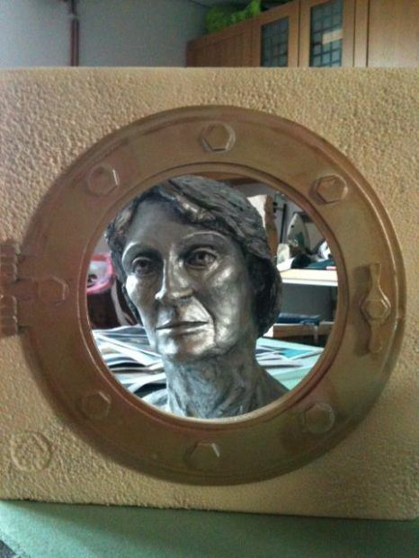 Through the porthole ..