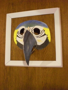 3D Masks for display or play