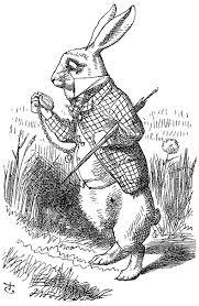 Sir John Tenniel's White Rabbit