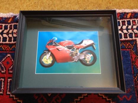 As framed