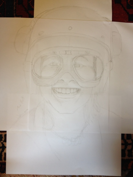This drawing just kept getting bigger and bigger