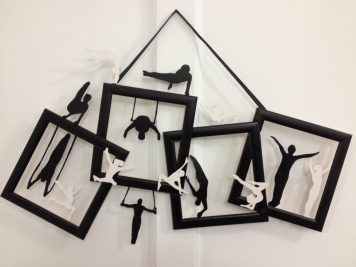 As seen at the Towards Stillness show February 2015 in 44AD Artspace, Bath