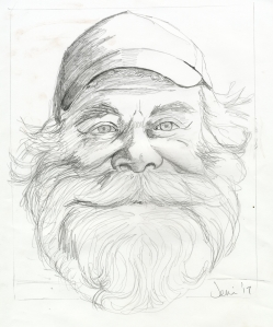 First make I make a sketch