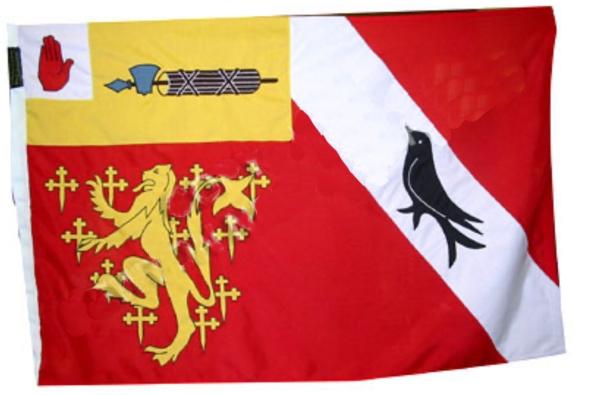 The original design of the family flag